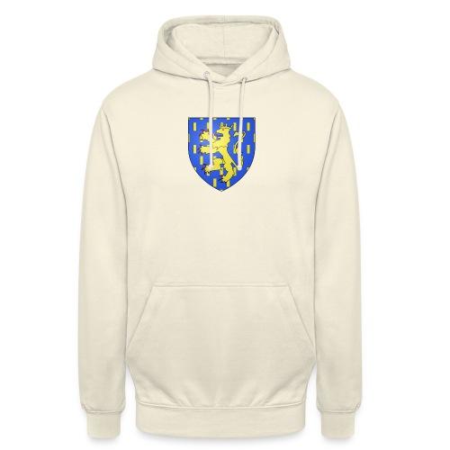 Blason de la Franche-Comté avec fond transparent - Sweat-shirt à capuche unisexe
