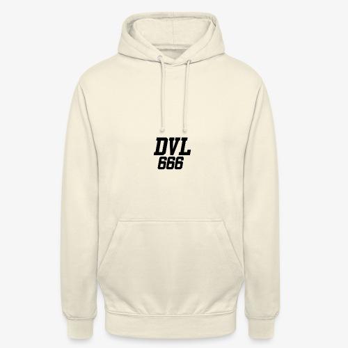 DVL666 - Sudadera con capucha unisex