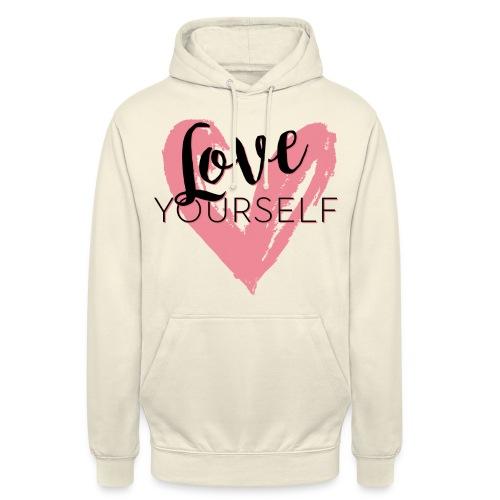 Love Yourself Logo von Pascal Voggenhuber - Unisex Hoodie