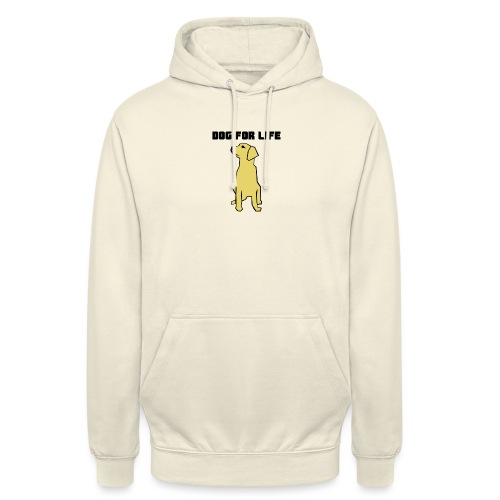 dog - Felpa con cappuccio unisex