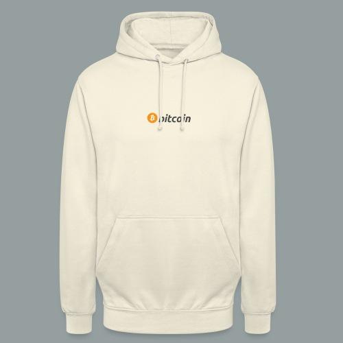 Bitcoin Logo #BTC - Sudadera con capucha unisex
