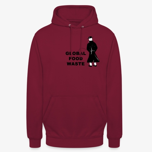 Pissing Man against Global Food Waste - Unisex Hoodie