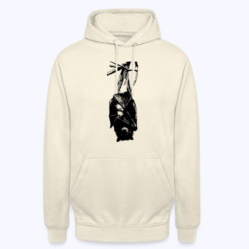 HangingBat schwarz - Unisex Hoodie