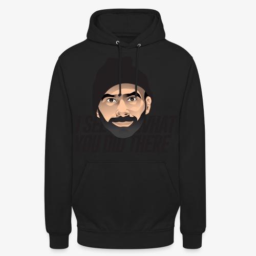 DJ Flipout Black - Sweat-shirt à capuche unisexe