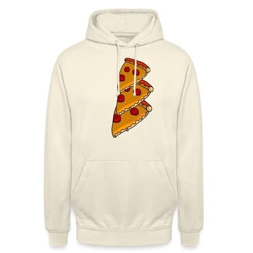 pizza - Hættetrøje unisex
