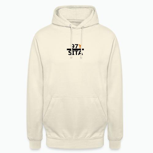 Sweat manche longue 97-Sita - Sweat-shirt à capuche unisexe