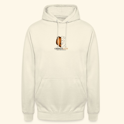 Grrrizzlyon - Sweat-shirt à capuche unisexe