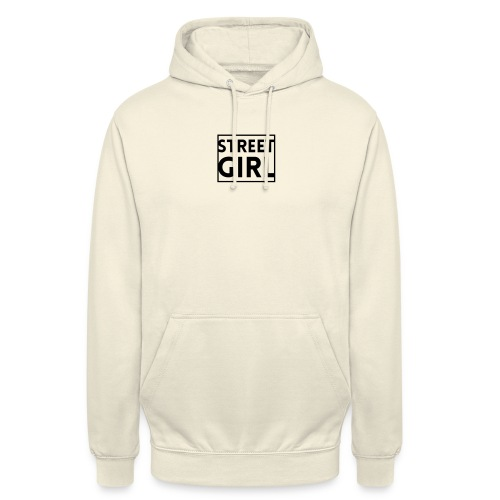 girl - Sweat-shirt à capuche unisexe