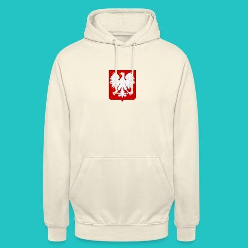 Koszulka z godłem Polski - Bluza z kapturem typu unisex