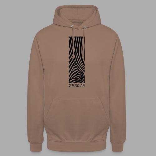 zebras - Unisex Hoodie