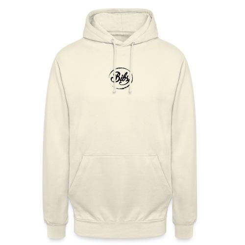 Bibs Logo Noir - Sweat-shirt à capuche unisexe
