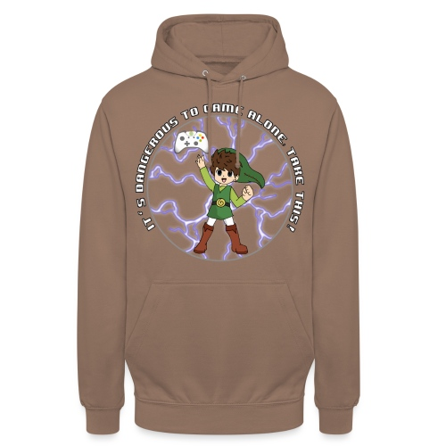 Dangerous To Game Alone - Unisex Hoodie