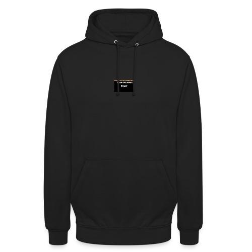 T-shirt staff Delanox - Sweat-shirt à capuche unisexe