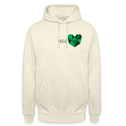 coeur de pierre coeur gif - Sweat-shirt à capuche unisexe