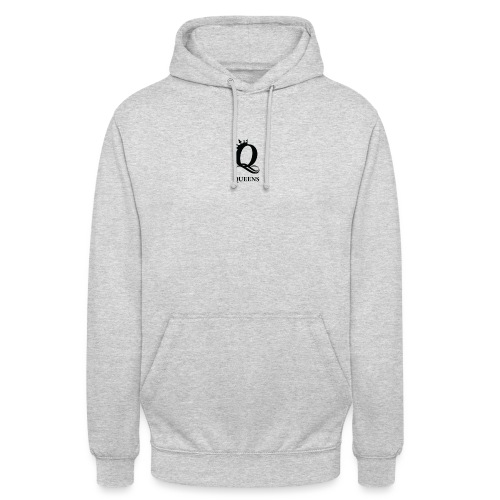 queens logo - Unisex-hettegenser