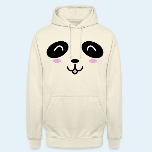 Cachorro panda (Cachorros) - Sudadera con capucha unisex