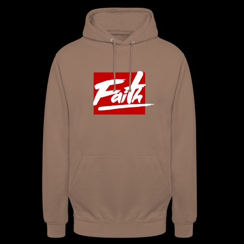 Faith Red - Sudadera con capucha unisex