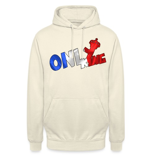 Logo ONLY KING edition francaise - Sweat-shirt à capuche unisexe