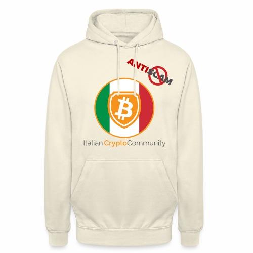 Italian CryptoCommunity - Felpa con cappuccio unisex