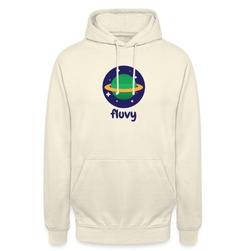 Fluvy Space - Sweat-shirt à capuche unisexe
