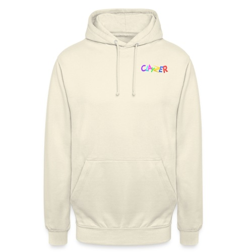 CLAYZER MULTICOLOR - Sweat-shirt à capuche unisexe