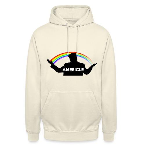 Americle - Felpa con cappuccio unisex