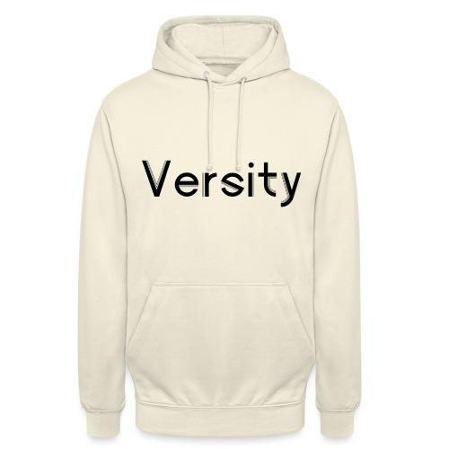 Versity Original Transparent logo - Unisex Hoodie