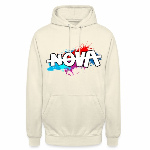 NOVA - Sweat-shirt à capuche unisexe