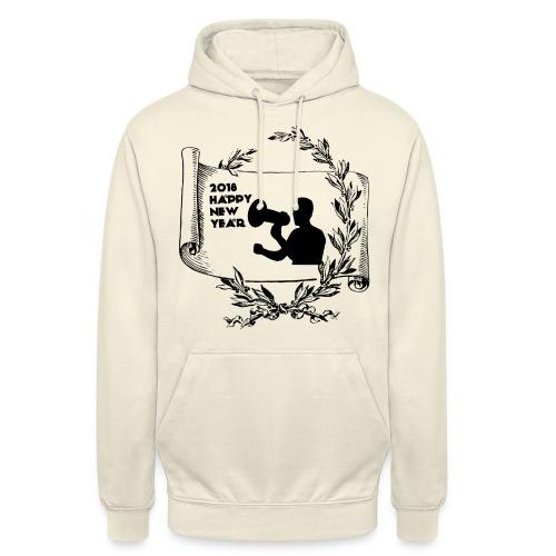 Happy New Year 2018 - Sweat-shirt à capuche unisexe