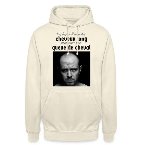 Humour Chauve ! - Sweat-shirt à capuche unisexe