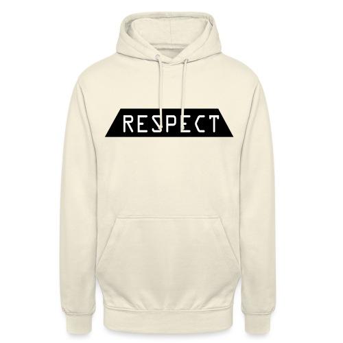 Respect - Unisex-hettegenser
