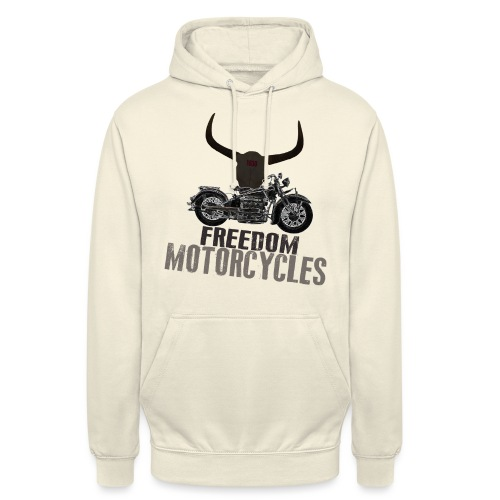 FREEDOM MOTORCYCLES - Sudadera con capucha unisex