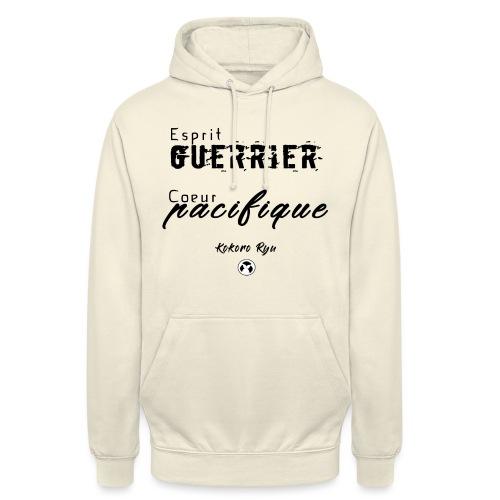 ESPRIT GUERRIER COEUR PACIFIQUE - Sweat-shirt à capuche unisexe