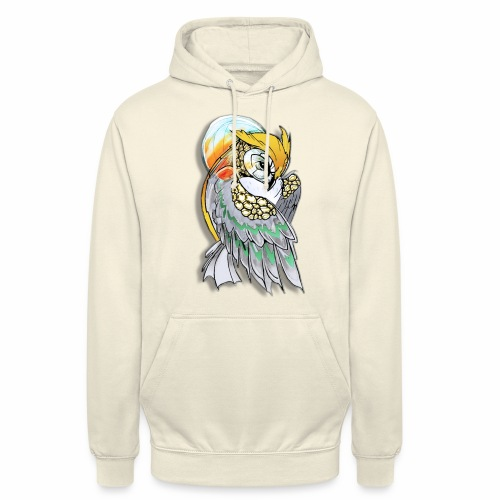 Cosmic owl - Sudadera con capucha unisex