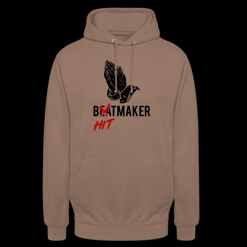 HitMaker Noir - Sweat-shirt à capuche unisexe