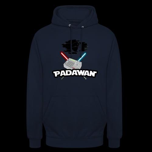 Padawan Noir - Sweat-shirt à capuche unisexe