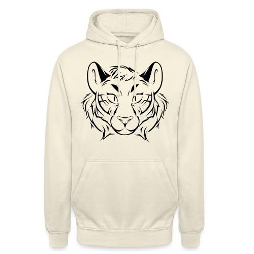 Tigris Picture Logo Black - Unisex Hoodie