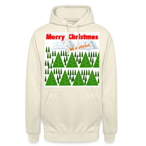 christmas time. Tempo di Natale - Felpa con cappuccio unisex