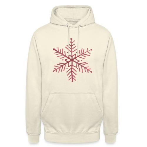 snowflake - Sweat-shirt à capuche unisexe