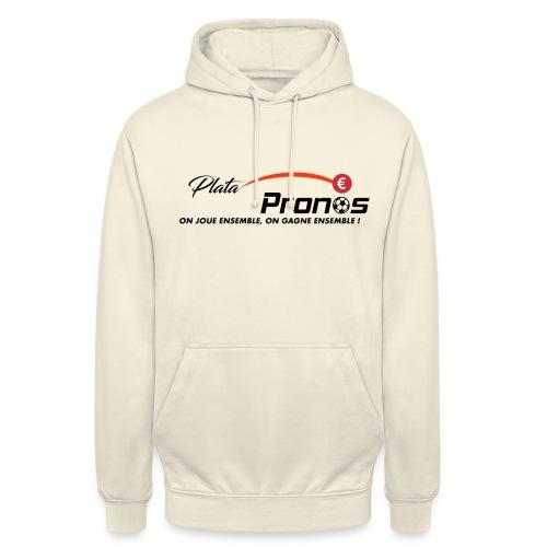 PLATAOPRONOS.FR - Sweat-shirt à capuche unisexe