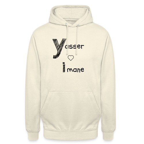 Yasser et Imane - Sweat-shirt à capuche unisexe