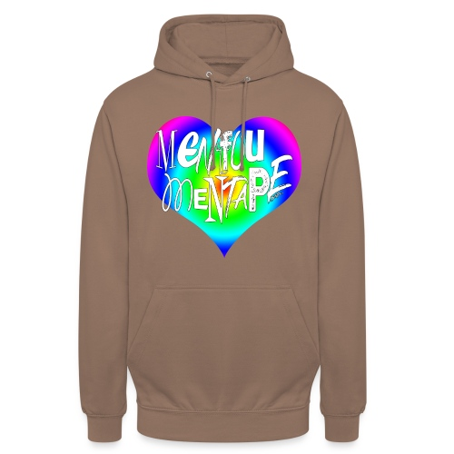 MENFOUMENTAPE Arc en ciel by Alice Kara - Sweat-shirt à capuche unisexe