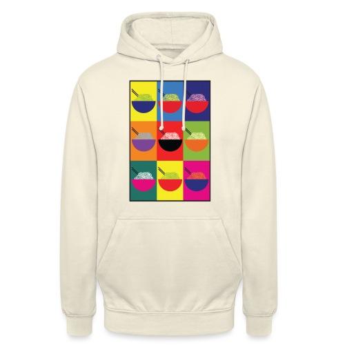 Pop Pho Art - Sweat-shirt à capuche unisexe