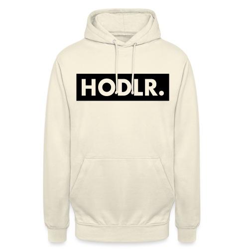 HODLR. - Hoodie unisex