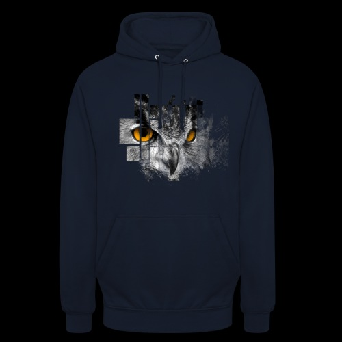 Owl pixel - Unisex Hoodie