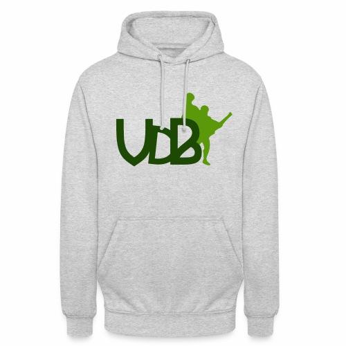 VdB green - Felpa con cappuccio unisex