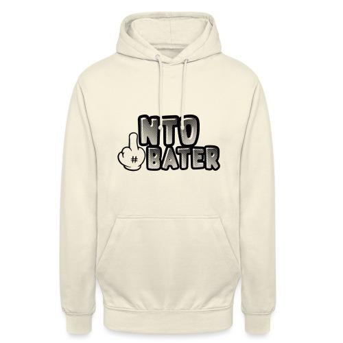 NTO - Sweat-shirt à capuche unisexe