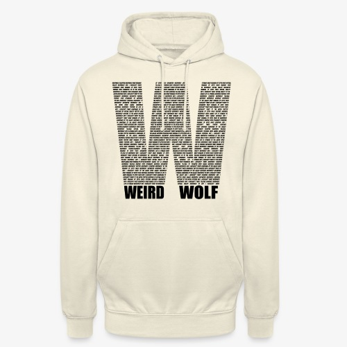 The Big W (Black) - Unisex Hoodie