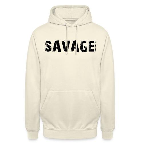SAVAGE - Sudadera con capucha unisex
