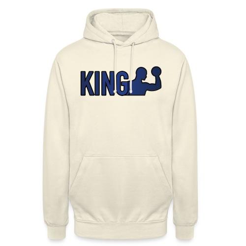 king bunt png - Unisex Hoodie